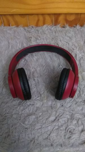 Red wireless headphones (read description ) for Sale in Bowie, MD