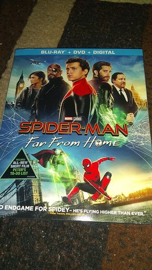 SPIDERMAN FAR FROM HOME , ON BLU-RAY BRAND NEW SEALED NEVER OPENED ASKING $12.00 for Sale in Phoenix, AZ