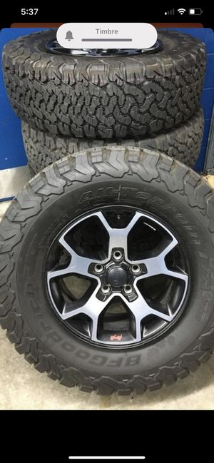 "17"" Jeep Wrangler Gladiator Rubicon Wheels Rims for Sale in Los Angeles, CA"
