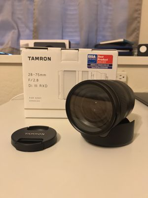 Tamron 28-75mm f2.8 e-mount lens for Sale in Chico, CA