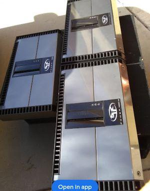 1 Rockford fosgate t2000 bd amplifier 2500 watts rms 1 ohm stable $520 for Sale in Mesa, AZ