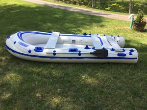 Inflatable Boat - 4 Person Inflatable Sea Eagle Boat for Sale in Deerfield, NH