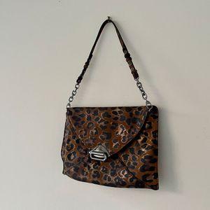 JIMMY CHOO leopard clutch bag for Sale in Washington, DC