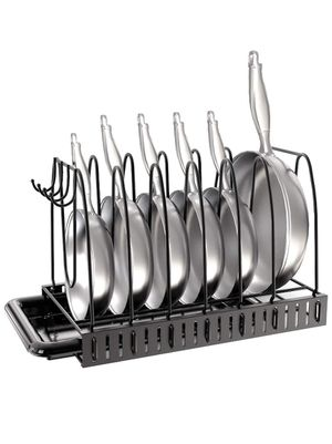 Pot Rack Organizer for kitchen - sponge holder and drain board - dry coffee mugs and cups and kitchenware for Sale in Lake Forest, CA