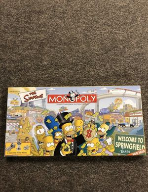 The Simpsons Monopoly for Sale in Portland, OR