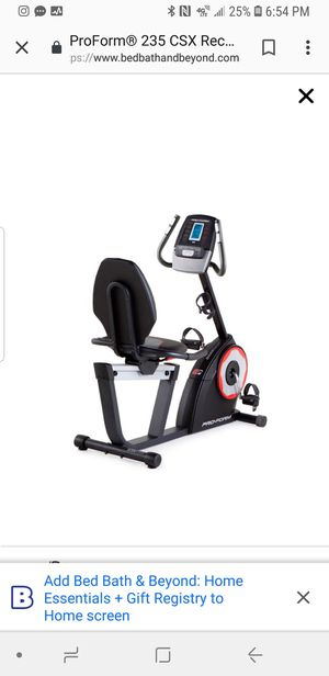 Exercise bike for Sale in West Covina, CA