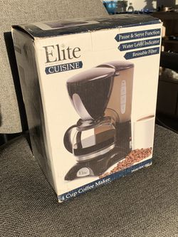 Elite Cuisine Coffee Maker By Maxi Matic for Sale in Las Vegas,  NV