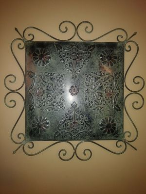 Beautiful metal wall decor for Sale in Lake Park, NC