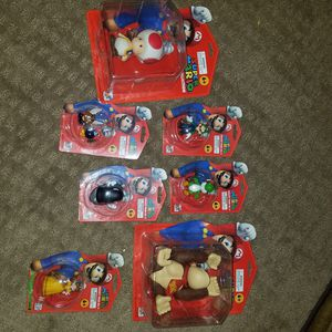Mario toy collection 10 years old for Sale in Westlake, OH