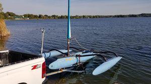 Windrider 16 sailboat trimiran for Sale in Mogadore, OH