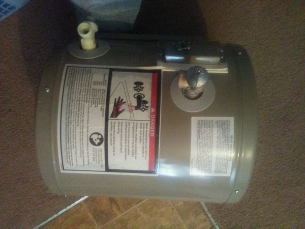 $75. 6 gal hot water heater $ 279. Price tag on it