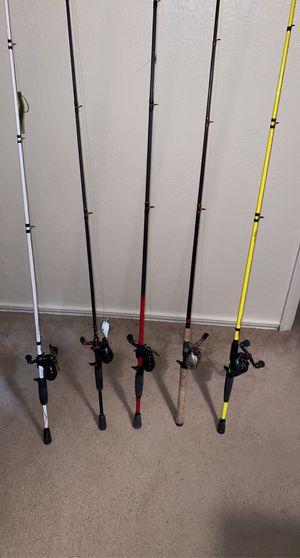 fishing poles for Sale in Abilene, TX