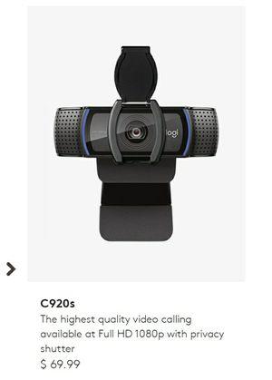 Logitech webcam for Sale in San Jose, CA