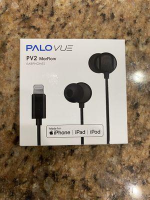 PALOVUE Lightning Earphones Headphones iPhone 11 Pro Max Earbuds MFi Certified Compatible iPhone X XS Max XR iPhone 8 Plus iPhone 7 Plus with Microph for Sale in Winter Garden, FL