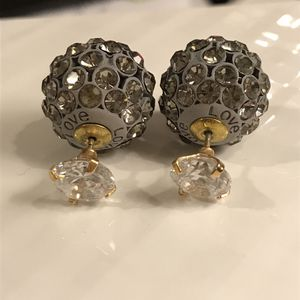😍Gorgeous Sparkly ❤️LOVE ❤️ Earrings for Sale in Dallas, TX
