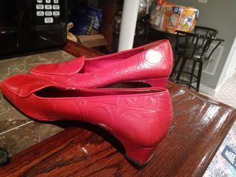 Ferragamo Women Heels Red for Sale in Fort Washington,  MD