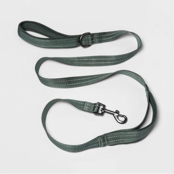 comfort dog leash L green boots & barkley