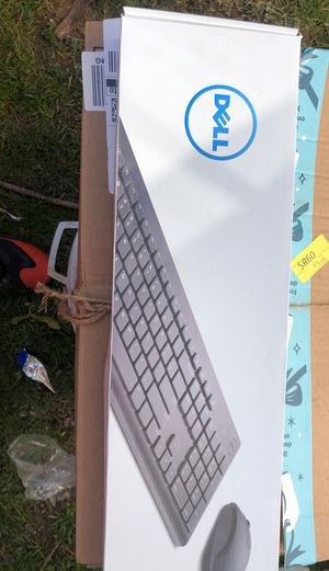 Dell wireless keyboard and mouse for Sale in SILVER SPRING, MD