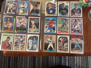 1988 and 1990 baseball cards for Sale in Davenport, IA