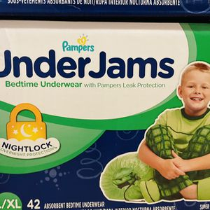 Pampers underjams L/XL for Sale in Lake Stevens, WA