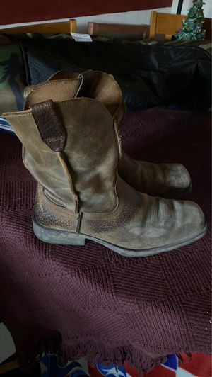 Ariat work boots - barely worn. for Sale in Virginia Beach, VA