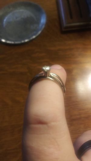 Beautiful 14k white gold diamond ring for Sale in Parma, OH