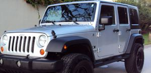 Fullyy a/c 07 Suv Jeep V6 4X4 $1800 Wrangler Unlimited for Sale in Fort Worth, TX