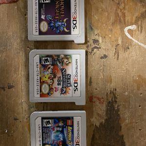 Three Nintendo 3DS games for Sale in Nuevo, CA