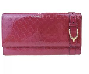 Gucci Micro GG Pattern Pink Patent Leather Clutch/Wallet for Sale in North Attleborough, MA