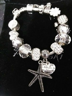 Presentski Fashion Charm Bracelet for Teen Girls and Women with Safe Chain for Sale in Las Vegas, NV