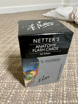 Netter's Anatomy Flash Cards 4th Edition for Sale in Fort Lee, NJ