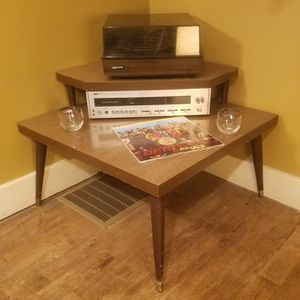 Mid Century Modern Mersman End Table with Matching Corner Table for Sale in Cleveland, OH