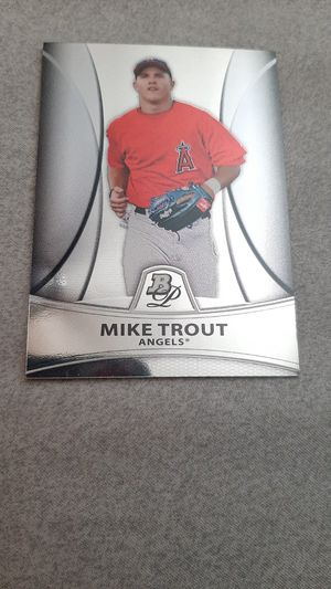 Mike Trout Baseball Card for Sale in Avondale, AZ