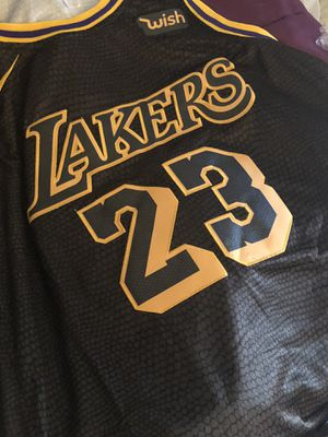 Medium Lakers Lebron Jersey *NotUsedYet for Sale in Columbus, OH