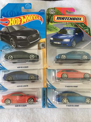 Hot Wheels Audi Lot for Sale in South Gate, CA