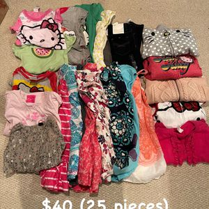 Lot of Girls Size 4T clothes (25 pieces) for Sale in Pasadena, CA