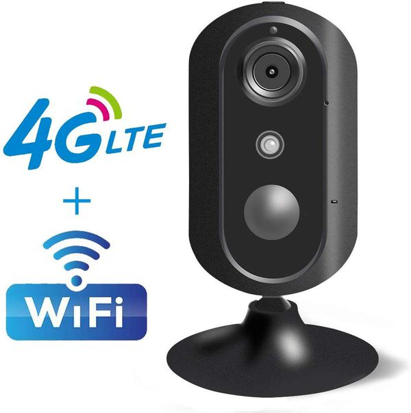 4G LTE Home Security Camera Indoor Wireless WiFi IP Camera Surveillance Security