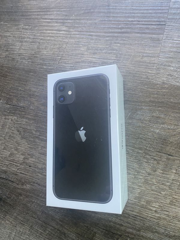 Iphone 11. Black. 64 GB. Open Box. Straight Talk and Total Wireless .
