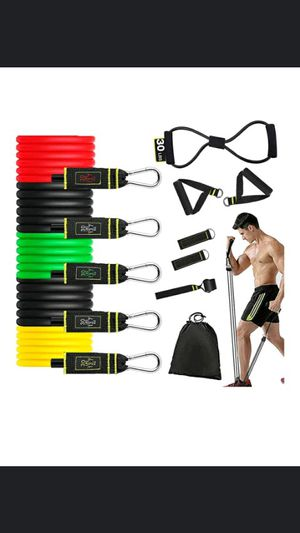 150LBS 12pcs Workout Resistance Bands $30 for Sale in Long Beach, CA