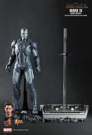 Hot Toys Iron Man 2 Mark IV Secret Project Figure for Sale in Costa Mesa, CA