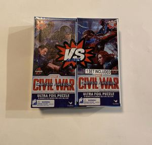 Puzzle- Avengers Captain America 2 pack for Sale in Winston-Salem, NC