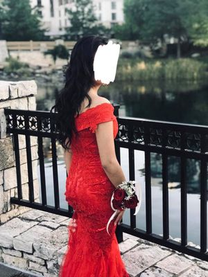 RED PROM DRESS for Sale in Denton, TX