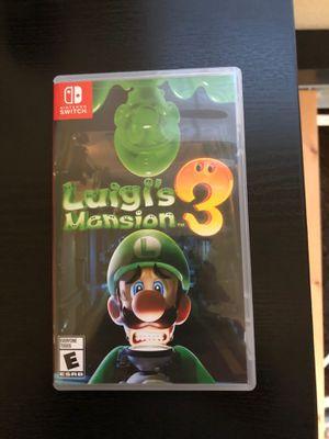 Luigi's mansion 3 for Sale in Arlington, TX
