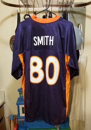 Vintage NFL Denver Broncos Rod Smith#80 REEBOK Jersey Size Large for Sale in Littleton, CO