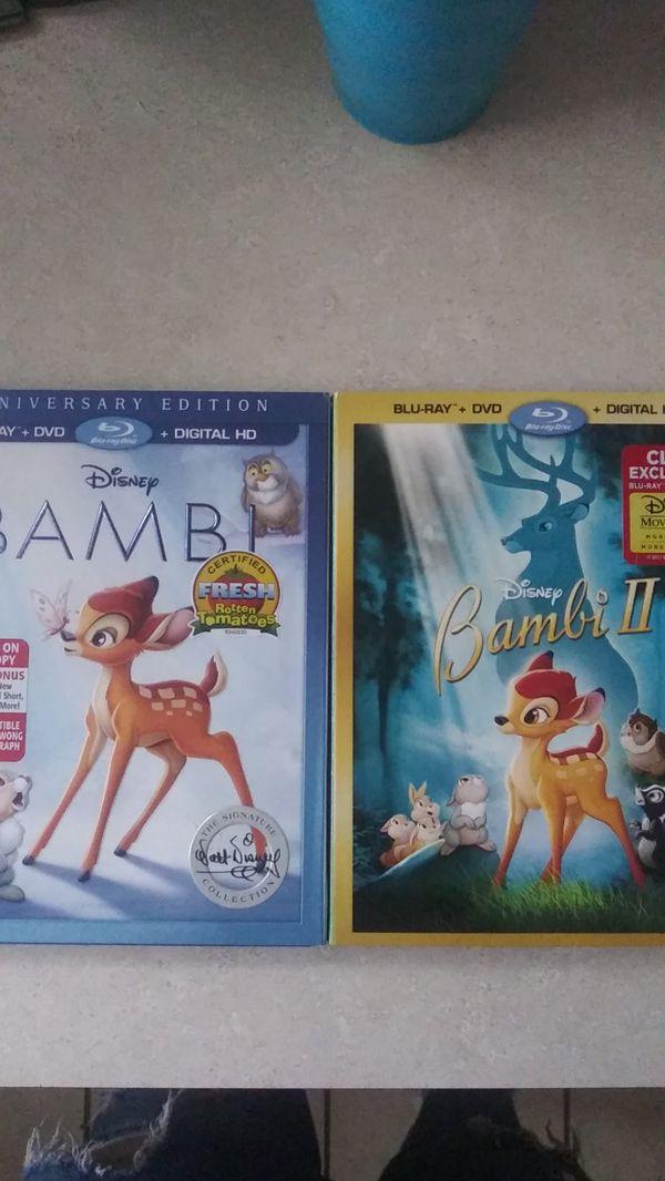 Bambi I & II Blu-ray & DVD