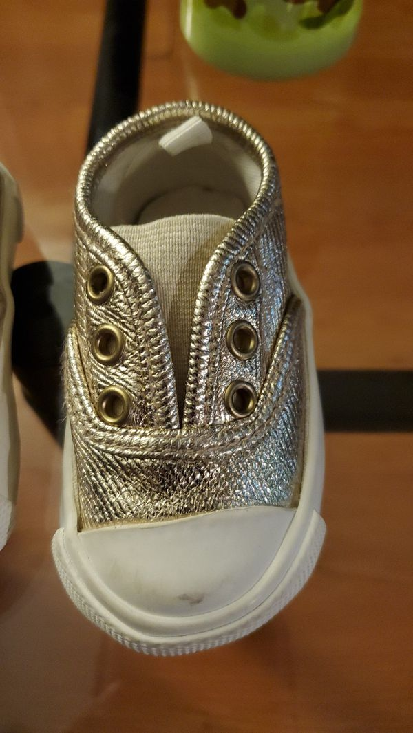 Semi new baby girl shoes