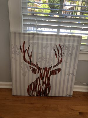Deer canvas painting for Sale in Tampa, FL