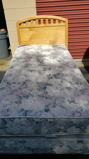 Twin size bed with mattress and box spring for Sale in Woodbridge, VA