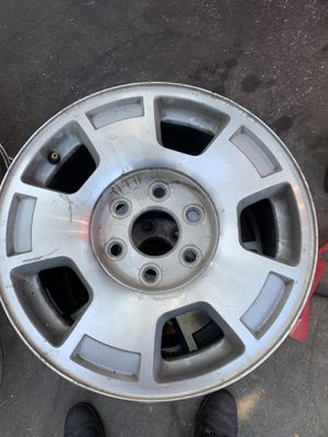 Chevy 6 Lug 17 Inch Rims for Sale in Wildomar, CA