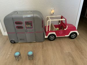JEEP AND RV FOR AMERICAN GIRL DOLLS for Sale in Davie, FL